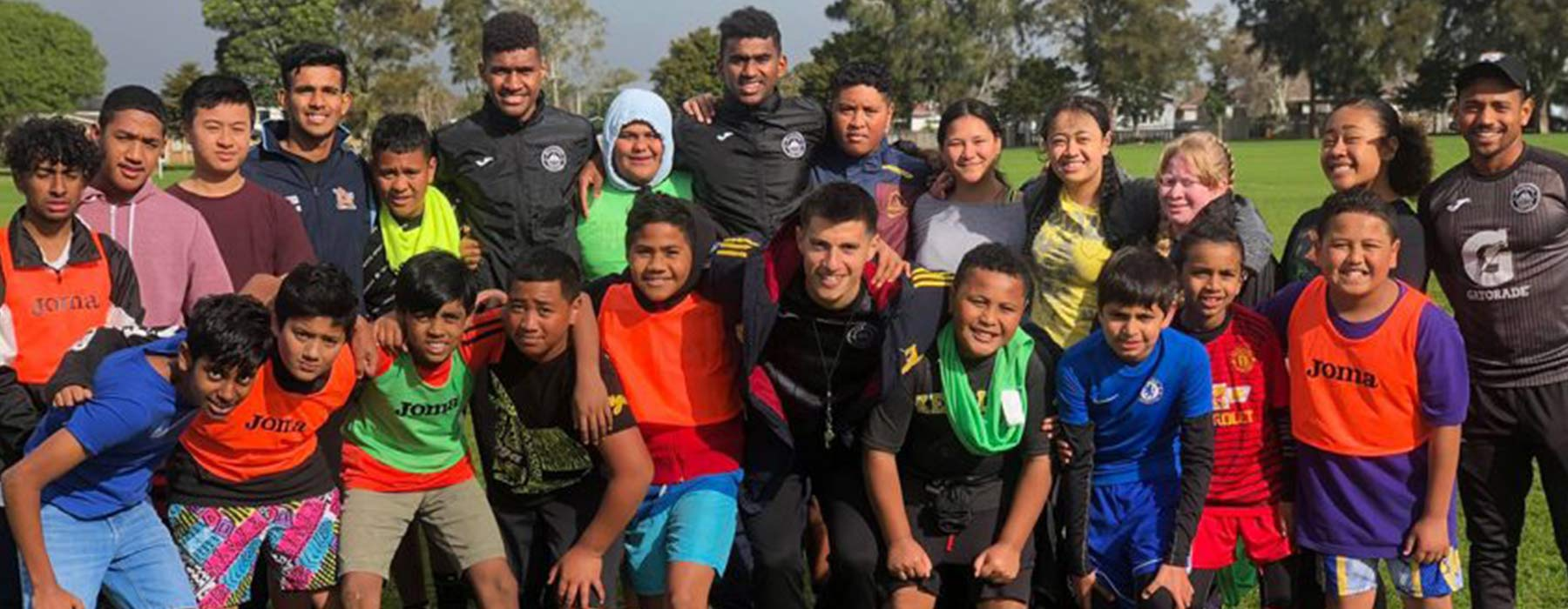 Thousands of young South Aucklanders will get their first experience of football activities with Hungerball